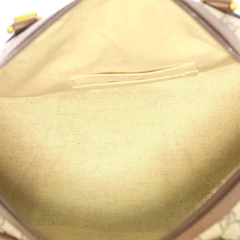 b025f0407d45 Gucci Web Convertible Duffle Bag GG Coated Canvas Medium For Sale 1