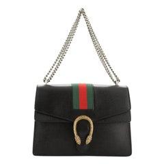Gucci Web Dionysus Bag Leather Medium