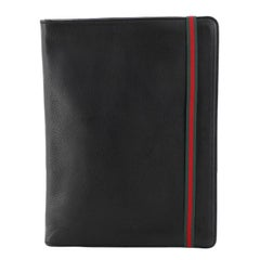 Gucci Web Document Pouch Leather