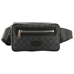 Gucci Web Strap Sling Bag GG Coated Canvas Small