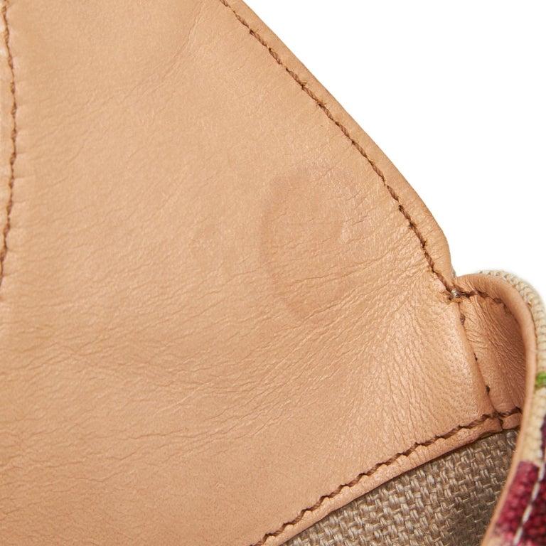 Gucci White Flora Jackie Shoulder Bag 8