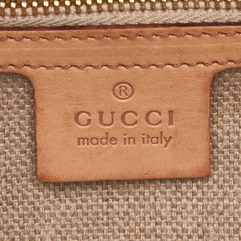 Gucci White Flora Jackie Shoulder Bag 2