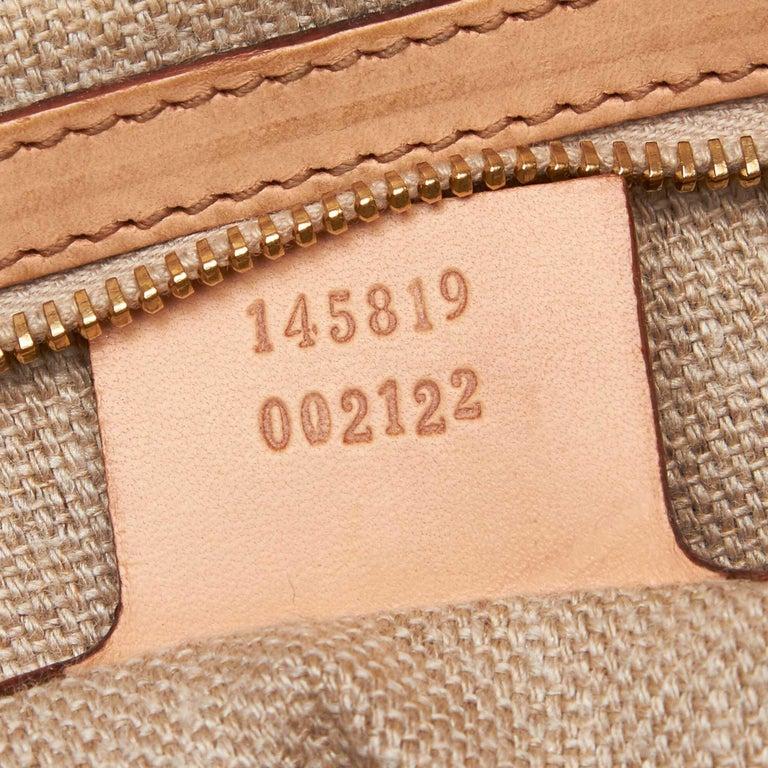 Gucci White Flora Jackie Shoulder Bag 3