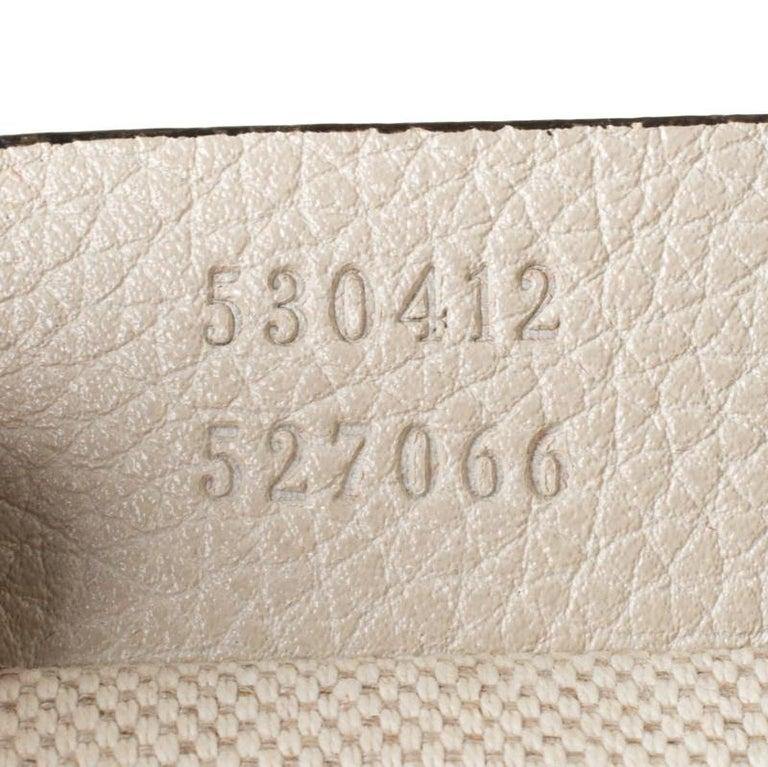 Gucci White Leather Belt Bag 4