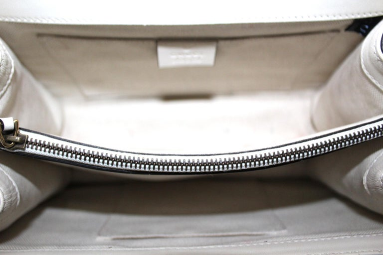 Gucci White Leather Dionysus Bag For Sale 1
