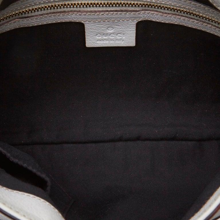 024a2474541 Women s Gucci White Small Capri Shoulder Bag For Sale