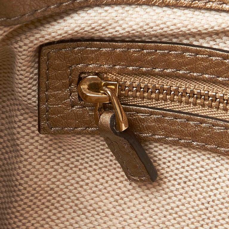 Gucci White Soho Leather Handbag 6