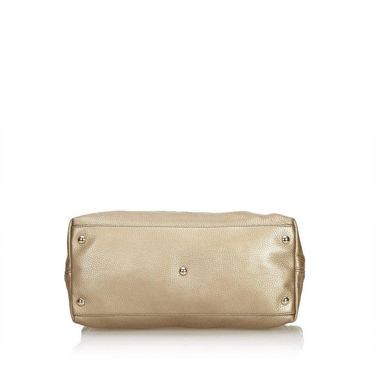 Women's Gucci White Soho Leather Handbag