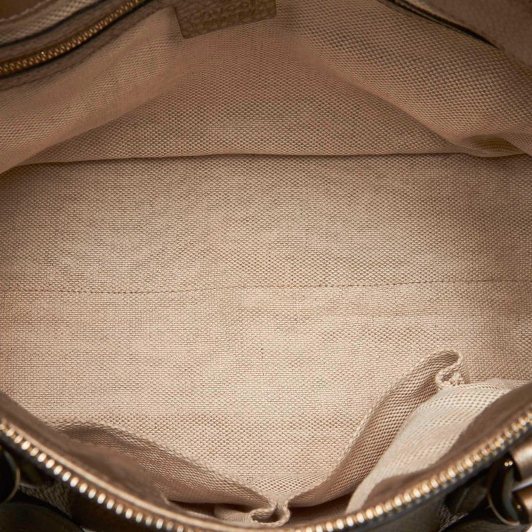 Gucci White Soho Leather Handbag 1