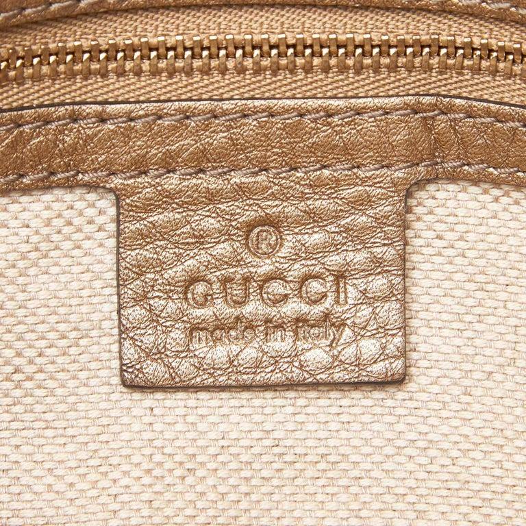 Gucci White Soho Leather Handbag 2