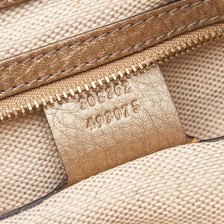 Gucci White Soho Leather Handbag 3