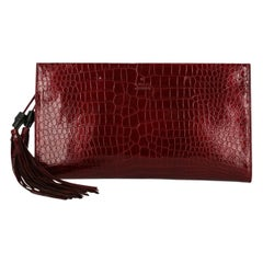 Gucci Woman Clutch bag Burgundy