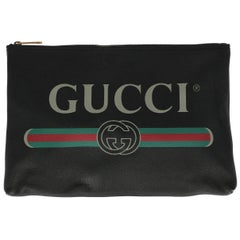 Gucci Woman Handbag  Black Leather