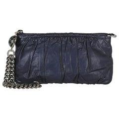 Gucci Woman Handbag  Navy Leather