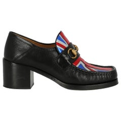 Gucci Woman Loafers Black Leather IT 38