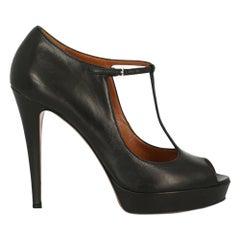 Gucci Woman Pumps Black Leather IT 40