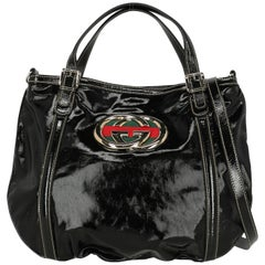 Gucci Woman Shoulder bag  Black Synthetic Fibers
