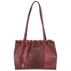 Gucci Woman Shoulder bag Burgundy Leather