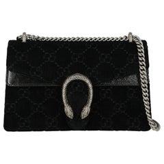 Gucci Woman Shoulder bag Dionysus Black Fabric