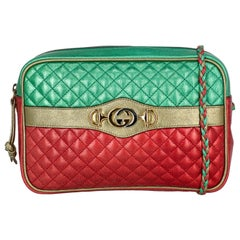 Gucci Woman Shoulder bag  Green Leather