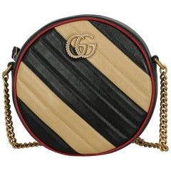 Gucci Woman Shoulder bag Marmont Beige Faux Leather