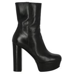 Gucci  Women   Ankle boots  Black Leather EU 37