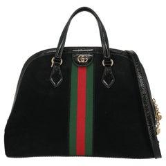 Gucci Women  Handbags Ophidia Black Leather