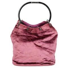 Gucci  Women   Handbags  Pink Fabric