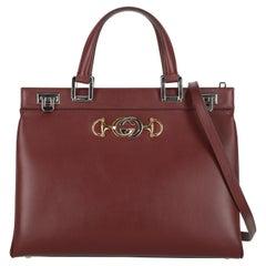 Gucci Women  Handbags  Zumi Burgundy Leather