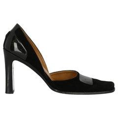 Gucci  Women Pumps  Black Leather EU 37.5