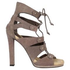 Gucci  Women   Sandals  Beige Leather EU 39