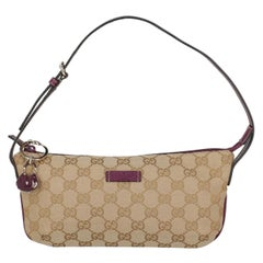 Gucci  Women Shoulder bags Beige, Purple Cotton