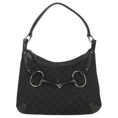 Gucci Women  Shoulder bags  Black Cotton