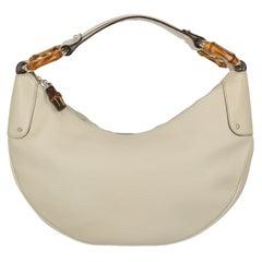 Gucci  Women   Shoulder bags   Ecru Leather