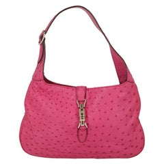 Gucci  Women   Shoulder bags  Jackie Pink Leather