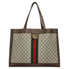 Gucci Women  Shoulder bags Ophidia Brown Synthetic Fibers