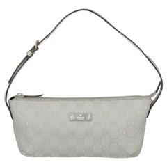 Gucci  Women Shoulder bags Silver Fabric