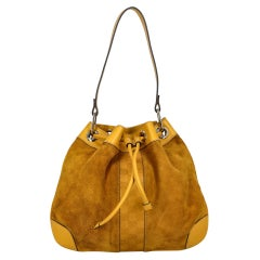 Gucci  Women   Shoulder bags   Yellow Leather