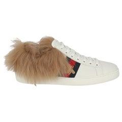 Gucci Women  Sneakers Beige Leather IT 36