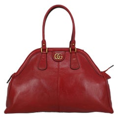 Gucci Women's Crossbody Bag Re(belle) Red Leather