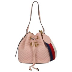 Gucci Women's Marmont Pink Leather
