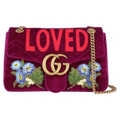 Gucci Women's Marmont Purple Fabric