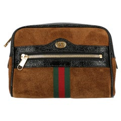 Gucci Women's Ophidia Brown Leather