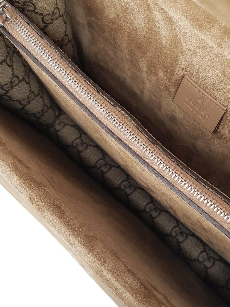 Gucci Women's Shoulder Bag Dionysus Beige/Multicolor Synthetic Fibers For Sale 2