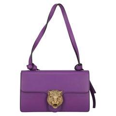Gucci Women's Shoulder Bag Purple Leather