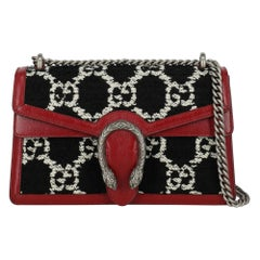 Gucci Women's Shoulder bags Dionysus Black/Red/White Leather