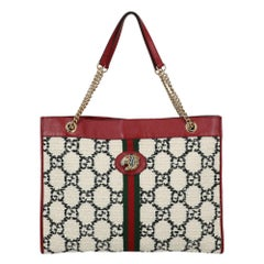 Gucci Women's Shoulder bags Rajah Black/Red/White Leather