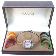 Gucci Womens Wrist Watch in Original Gucci Presentation Box c 1980s