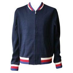 Gucci Wool Jersey Bomber Jacket