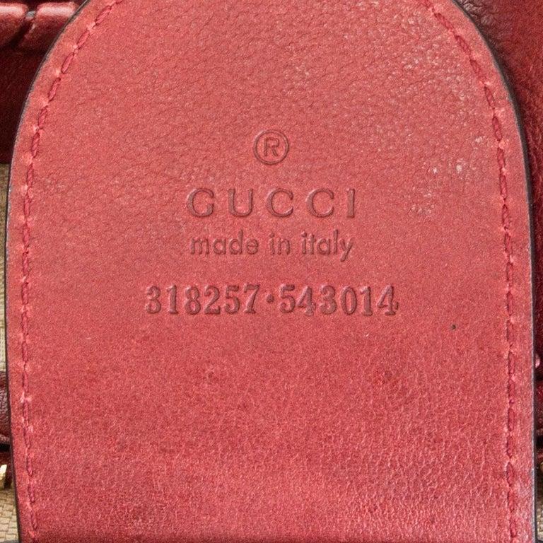 GUCCI x GREEN CARPET CHALLENGE burgundy leather NEW JACKIE LARGE HOBO Bag For Sale 1